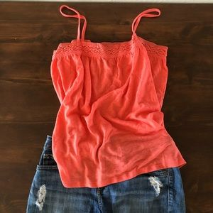 Old Navy Coral Tank